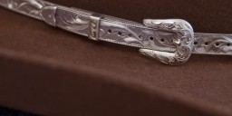 3/8″ Sterling Silver Hatband, Adjustable