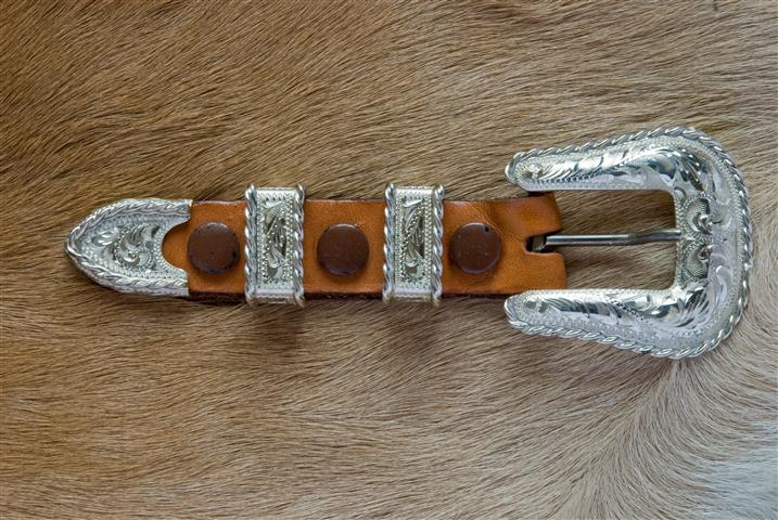 3 4 Quot Sterling Ranger Buckle Set Fritch Brothers Western